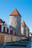 Towers of a fortification Royalty Free Stock Image