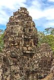 Towers and galleries in Angkor Thom, Bayon Temple Stock Photography