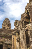 Towers and galleries in Angkor Thom, Bayon Temple Stock Photos