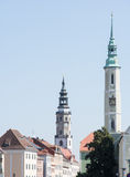 Towers of Goerlitz Royalty Free Stock Images