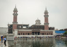Towers of the Golden Temple in Amritsar, India Stock Photos