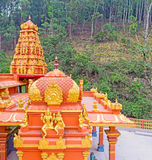 The towers of Hindu Temple Royalty Free Stock Photo