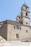 Towers of the Hospital de Santiago, Ubeda, Jaen, Spain.  Royalty Free Stock Image