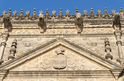 Towers House or Davalos Palace, actually Ubeda Art Schoool, Jaen Stock Images