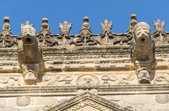 Towers House or Davalos Palace, actually Ubeda Art Schoool, Jaen. Spain Royalty Free Stock Photo
