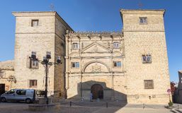 Towers House or Davalos Palace, actually Ubeda Art Schoool, Jaen. Spain Royalty Free Stock Photography