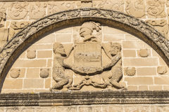 Towers House or Davalos Palace, actually Ubeda Art Schoool, Jaen Stock Photography