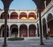 Towers House or Davalos Palace, actually Ubeda Art Schoool, Jaen. Spain Royalty Free Stock Image