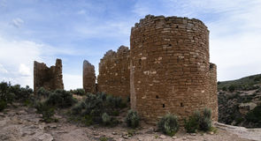 Towers of Hovenweep Royalty Free Stock Photos