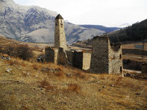 Towers Of Ingushetia. Ancient Architecture And Ruins Royalty Free Stock Photo