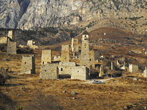 Towers Of Ingushetia. Ancient Architecture And Ruins Stock Photo