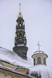Towers at Jasna Gora Monastery Royalty Free Stock Image