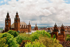 Towers of Kelvingrove Art Gallery and Museum Royalty Free Stock Image