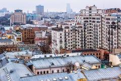 Towers of Kiev stock photo