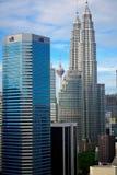 Towers of KL, Kuala Lumpur, Malaysia Stock Photography