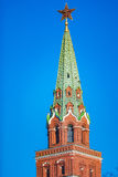 The towers of the Kremlin in Moscow, Russia Stock Photo