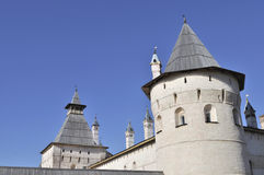 Towers of Kremlin in Rostov The Great, Russia Royalty Free Stock Images