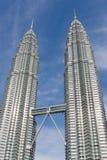 Towers of Kuala Lumpur Royalty Free Stock Photos