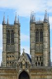 Towers of Lincoln Cathedral Stock Image