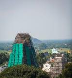 Towers of Lord Bhakthavatsaleswara r Temple Royalty Free Stock Image