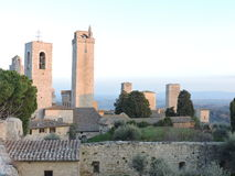 Towers. In the lovely San Gimignano Royalty Free Stock Image