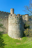 Towers of Medieval Castle, Carcassonne Stock Image
