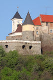 Towers of medieval castle Stock Image