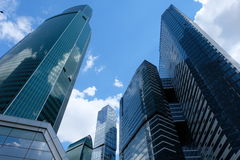 Towers of Moscow City - Moscow, Russia Stock Images