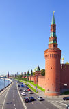 Towers in Moscow Kremlin Stock Photo