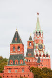 Towers of the Moscow Kremlin Stock Photography