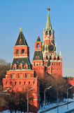 Towers of Moscow Kremlin. Russia Stock Photos