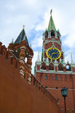 Towers of the Moscow Kremlin, Russia Stock Photos