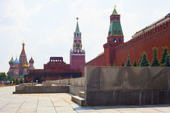 Towers Moscow Kremlin in solar weather Stock Photo