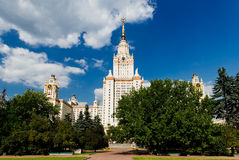 Towers of Moscow State University Royalty Free Stock Photo