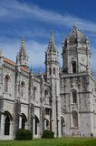 Towers of Mosteiro dos Jeronimos Royalty Free Stock Images