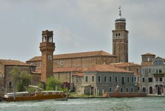 Towers in Murano Stock Photo