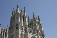 Towers of the National Cathedral Stock Photography
