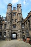Towers of the New College in Edinburgh. Stock Photos