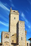 Towers of noble citizens. San Gimignano, Italy Stock Photography