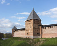 Towers of Novgorod Kremlin Stock Photos