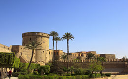 Towers Of Mohamed Ali Citadel In Cairo Royalty Free Stock Images