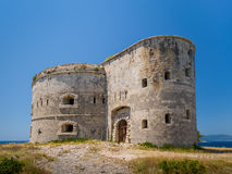 Towers of old Arzla fort Royalty Free Stock Image