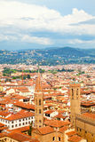 Towers of old Florence Stock Image