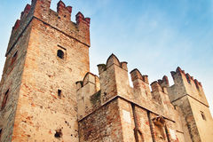 Towers of old medieval castle Royalty Free Stock Photography