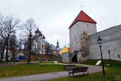 Towers of Old Tallinn Royalty Free Stock Image