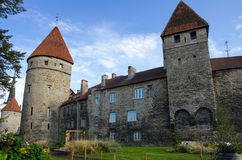 Towers of old Tallinn Stock Photography