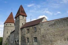 Towers of old Tallinn Stock Photos