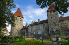 Towers of old Tallinn Royalty Free Stock Images