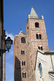 Medieval towers of Albenga Royalty Free Stock Images