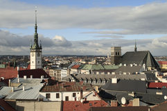 Towers of the Olomouc City Royalty Free Stock Photography